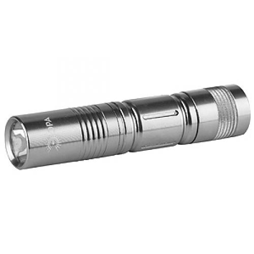 Фонарь ЭРА SDB1Фонари<br>Фонарик карманный Эра SDB1 — в фонаре используется достаточно яркие&amp;nbsp;&amp;nbsp;светодиоды, есть удобная цепочка ручка. Фонарь представляет собой компактную модель, которая подходит для городских условий. Ударопрочный пластик корпуса позволит защитить фонарь от падений. Вы можете использовать фонарь такого типа не только на улице, но и в подъезде. Вы можете подарить такой брелок ребенку, ведь фонарик не бывает лишним. Питание происходит от одной батарейки АА.<br>