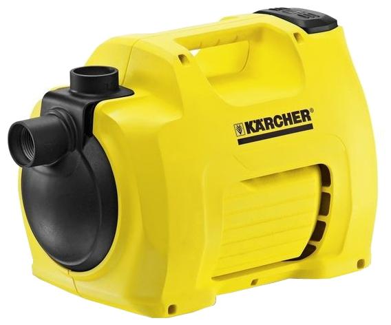 Насос Karcher BP 3 GardenНасосы<br><br><br>Глубина погружения: 8 м<br>Максимальный напор: 40 м<br>Пропускная способность: 3.5 куб. м/час<br>Напряжение сети: 220/230 В<br>Потребляемая мощность: 800 Вт<br>Качество воды: чистая<br>Установка насоса: горизонтальная