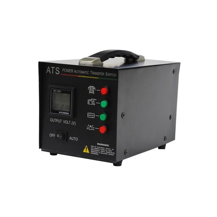 Блок автоматики Hyundai ATS15 380vЭлектрогенераторы<br>Блок автоматики HYUNDAI ATS15 380v<br>Предназначен для генераторов HYUNDAI PROFESSIONAL на 380В<br><br>Используется для переключения питания от основного источника к вспомогательному источнику, такому как генератор<br>Автоматически запускает генераторную установку и переключает подачу электричества от основного источника к генераторной установке<br>