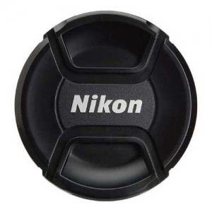 Крышка для обьектива Fujimi с надписью Nikon, 77мм