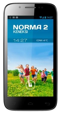 Мобильный телефон Keneksi Norma 2 BlackМобильные телефоны<br><br>