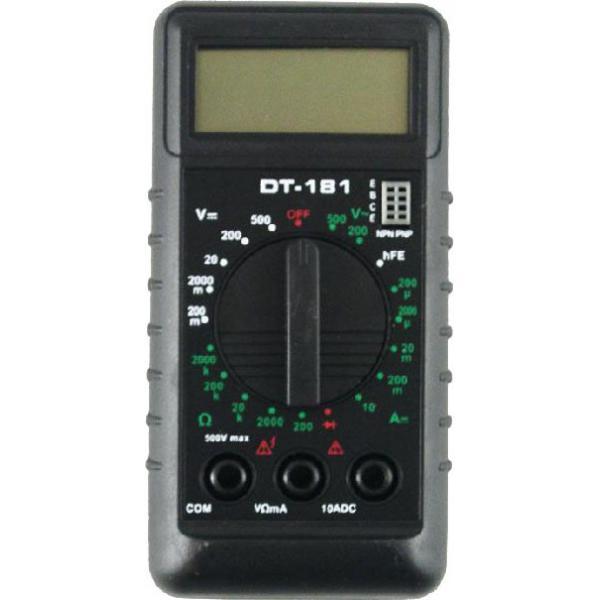 Мультиметр Ресанта DT 181Измерительные инструменты<br><br>