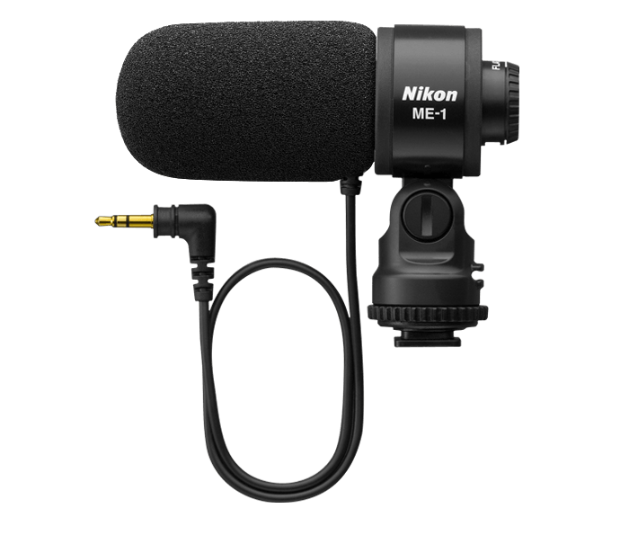 Микрофон Nikon ME-1Микрофоны<br><br><br>Частотный диапазон, Гц: 70 - 16000<br>Сопротивление, Ом: 2200<br>Чувствительность, Дб: -42