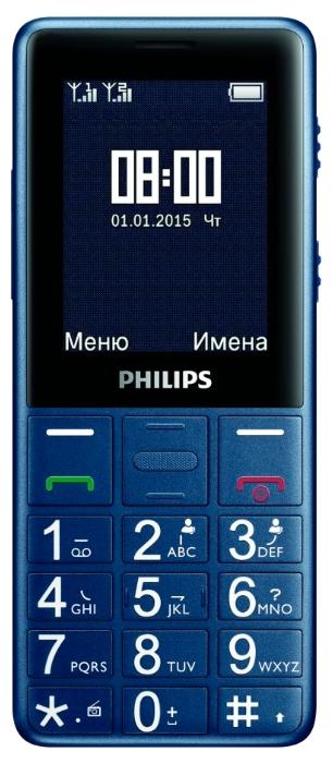 Мобильный телефон Philips Xenium E311 NavyМобильные телефоны<br><br>