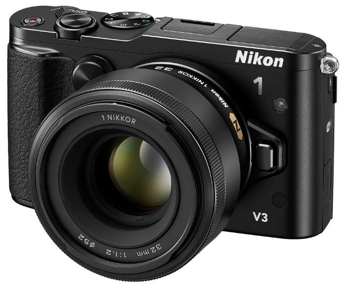 Цифровой фотоаппарат Nikon 1V3 + DF-N1000 + GR-N1010 + VR 10–30mm PD-ZOOM