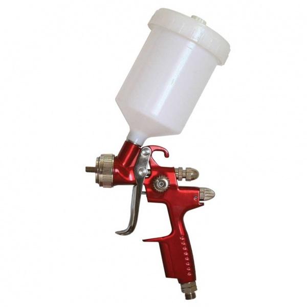 Краскопульт Калибр КРП-1,3/0,5ВБ ПРОФИКраскопульты<br>Краскораспылитель пневматический <br>Калибр КРП-1,3/0,5ВБ ПРОФИ предназначен для нанесения красочных составов, путём распыления их сжатым воздухом.<br>