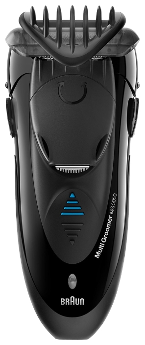 Электробритва Braun MG 5050Электробритвы<br><br><br>Тип : Сеточная электробритва<br>Количество бритвенных головок: 1<br>Плавающие головки: Нет<br>Способ бритья: Сухое/влажное<br>Триммер: Есть<br>Водонепроницаемый корпус  : Есть<br>Быстрая зарядка  : Есть