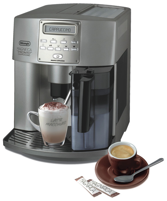 Кофемашина Delonghi ESAM 3500.SКофеварки и кофемашины<br>DeLonghi ESAM 3500.S — индивидуальный подход.<br>Прежде чем определиться с выбором кофемашины, обязательно ознакомьтесь с ее описанием. Ведь именно в нем перечислены все необходимые характеристики. В случае с кофемашиной DeLonghi ESAM 3500.S это по-настоящему огромный набор полезных и необходимых функций. Контроль крепости кофе, регулировка температуры напитка, регулировка жесткости воды, капучинатор, регулировка степени помола — это лишь небольшая часть функционала такой кофемашины.<br>Как вы сами видите, с такими возможностями вы с легкостью приготовите ваш...<br><br>Тип используемого кофе: Зерновой\Молотый<br>Мощность, Вт: 1350<br>Объем, л: 1.8<br>Давление помпы, бар  : 15<br>Материал корпуса  : Пластик<br>Встроенная кофемолка: Есть<br>Емкость контейнера для зерен, г  : 200<br>Одновременное приготовление двух чашек  : Есть<br>Подогрев чашек  : Есть<br>Контейнер для отходов  : Есть
