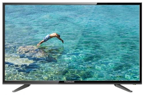 Жк телевизор Thomson T39D20DH-01BЖК и LED телевизоры<br>Thomson T39D20DH-01B – современный LED-телевизор, обеспечивающий высокое качество изображения. Владелец получит неподдельное удовольствие, просматривая фильмы, развлекательные передачи, спортивные соревнования на ярком экране, обеспечивающем чёткое, детализованное изображение.<br><br>- ПРИЁМ ЦИФРОВЫХ ПЕРЕДАЧ<br>Телевизор оснащён как аналоговым, так и цифровым тюнером. Благодаря этому владелец может смотреть передачи цифрового ТВ, не приобретая дополнительное оборудование.<br><br>- МОЩНЫЙ ЗВУК<br>Два 5-ваттных динамика обеспечивают мощный, реалистичный звук, что позволяет...<br>