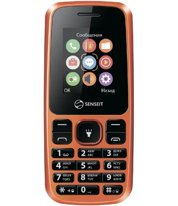 Мобильный телефон Senseit L105 OrangeМобильные телефоны<br><br>