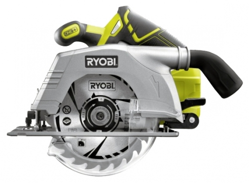 Дисковая пила Ryobi ONE+ R18CS-0 (3002338)Пилы<br>Дисковая пила Ryobi ONE&amp;#43; R18CS-0 позволяет выполнять чистый и аккуратный рез. Покрытие GripZone на рукоятке способствует комфортной работе пользователя. В комплект входит диск, поэтому можно приступать к работе сразу после покупки. Модель поставляется без аккумуляторов и зарядного устройства, что является отличным выбором для тех, у кого уже имеется аккумуляторный инструмент Ryobi18 В.<br><br>Система Ryobi One&amp;#43; позволяет использовать всего один блок питания для целого арсенала аккумуляторного инструмента. Интеллектуальная система обеспечивает полный заряд ...<br><br>Тип: дисковая<br>Конструкция: ручная<br>Функции и возможности: плавная регулировка скорости, блокировка шпинделя