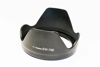 Бленда Fujimi FBEW78E для объектива Canon (EF-S 15-85mm f/3.5-5.6 IS USM)Аксессуары для фототехники<br><br><br>Цвет : черный<br>Дополнительно: для объектива Canon (EF-S 15-85mm f/3.5-5.6 IS USM)