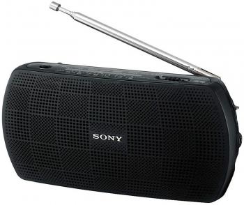 Радиоприемник Sony SRF-18, черныйРадиобудильники, приёмники и часы<br><br><br>Тип: Радиоприемник<br>Тип тюнера: Цифровой<br>Диапозон частот: FM, AM<br>Часы: Нет<br>Встроенный будильник  : Нет