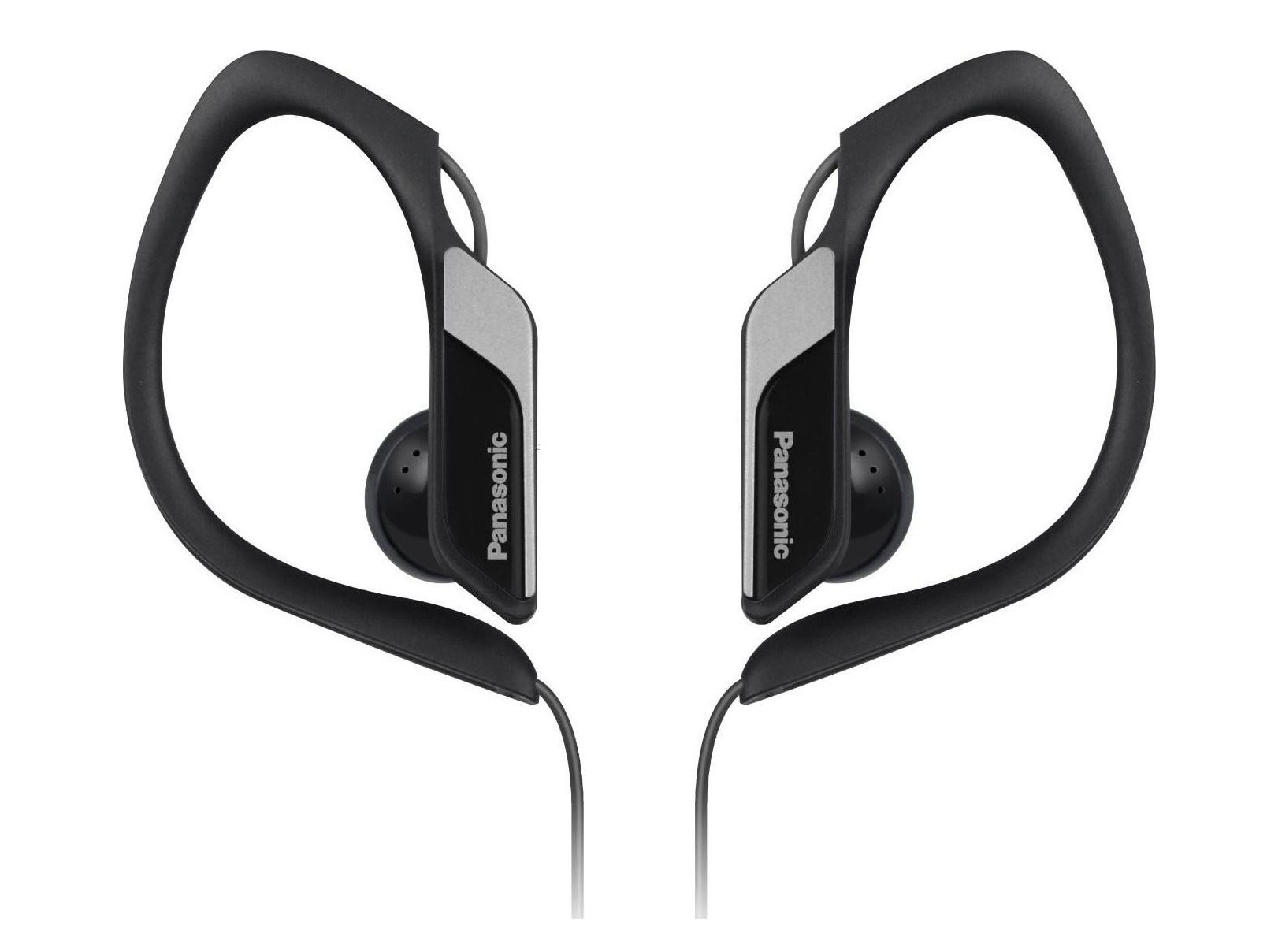 Наушники Panasonic RP-HS34E-KНаушники и гарнитуры<br>Компания Panasonic представляет наушники-клипсы RP-HS34, разработанные специально для атлетов, любящих музыку. Они отлично звучат, водонепроницаемы, надежно фиксируются на ушах и поставляются в разнообразных расцветках.<br><br>Это известный факт, что во время тренировок люди слушают музыку, и наушники-клипсы как нельзя лучше подходят для этого: они легкие, компактные и надежно фиксируются на ушах.<br><br>Наушники RP-HS34 разрабатывались на основе отзывов спортсменов. Они предлагают гибкую дужку, которая отлично огибает ухо и гарантируют, что наушники не слетят даже...<br><br>Тип: наушники<br>Вид наушников: Вкладыши<br>Тип подключения: Проводные<br>Номинальная мощность мВт: 200<br>Диапазон воспроизводимых частот, Гц: 10-25000<br>Сопротивление, Импеданс: 23 Ом<br>Чувствительность дБ: 100