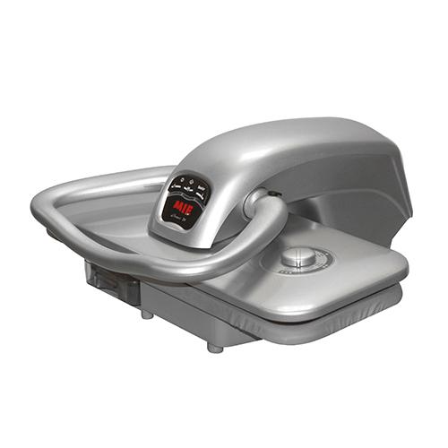 Гладильный пресс MIE Romeo IV SilverУтюги и гладильные системы<br><br><br>Тип : Гладильный пресс<br>Мощность, Вт: 2200<br>Производительность пара: 90 г/мин<br>Объём резервуара для воды, мл: 800