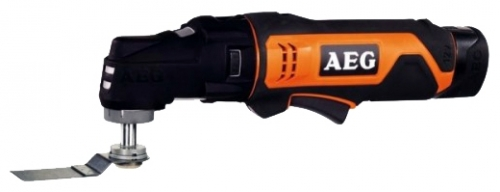 Многофункциональная шлифмашина AEG 440770 OMNI12C LI-152BKIT2Шлифовальные и заточные машины<br>- Непревзойденная эргономика. Малый вес и минимальные размеры делают инструмент идеальным для работы в труднодоступных местах<br>- Заменяемые без использования дополнительного инструмента насадки позволяют изменять назначение инструмента и максимально расширяют диапазон его применения<br>- Большой 2 - х пальцевый выключатель с функцией регулировки скорости<br>- Полный контроль над инструментом при работе одной рукой<br>- Компактный, для работы в ограниченном пространстве<br>- Светодиодная подсветка с режимом работы в темноте<br><br>Описание: время зарядки аккумулятора 1.5 ч