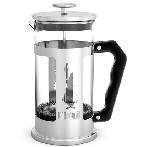 Френч-пресс Bialetti Pressofiltro 3160Чайные/кофейные принадлежности<br><br><br>Цвет: серебристый