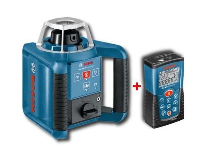 Ротационный лазерный нивелир Bosch GRL300HV + DLE40 [061599409G]