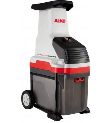 Измельчитель AL-KO Easy Crush LH 2800Измельчители садовые<br>Валковый измельчитель с мощный режущим механизмом и пониженным уровнем шума. Очень большая загрузочная воронка с запатентованными втягивающими роликами. Устойчивый корпус с колесами XL. Большой встроенный мусоросборник.<br><br>Тип: Шредер<br>Потребляемая мощность, Вт: 2 800<br>Система измельчения: Система валков<br>Предохранитель: 16 Ампер<br>Макс. ? ветвей: 42 мм<br>Вид привода: Электрический<br>Объем травосборника в л: 50