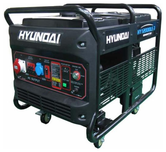 Электрогенератор Hyundai HY12000LE