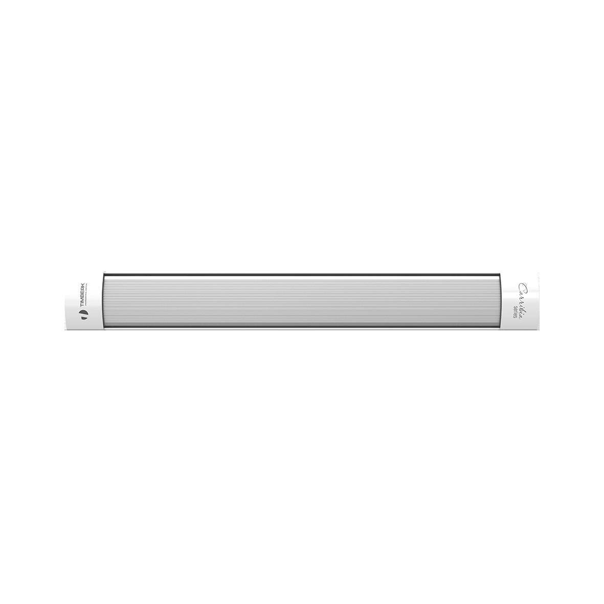 Обогреватель Timberk TCH A5 1000Обогреватели<br>- Возможность объединения приборов в группу - до 3000 Вт суммарной мощности<br>- Компактный размер<br>- Отражательный экран с высочайшим коэффициентом отражения<br>- Повышенная экономия расхода электроэнергии<br>- Потолочный монтаж - экономия пространства помещения<br>- Безопасное потолочное крепление: горячая рабочая поверхность недоступна для случайных контактов.<br>- Возможность подключения блока дистанционного управления TMS 08.CH*<br>- Возможность подключения комнатного термостата TMS.09CH или TMS 10.CH**<br>* Блок управления не входит в комплект поставки, приобретается ...<br><br>Тип: инфракрасный<br>Серия: A5: Carribia<br>Площадь обогрева, кв.м: 12<br>Термостат: есть<br>Напряжение: 220/230 В<br>Габариты: 115.2x14.2x5 см