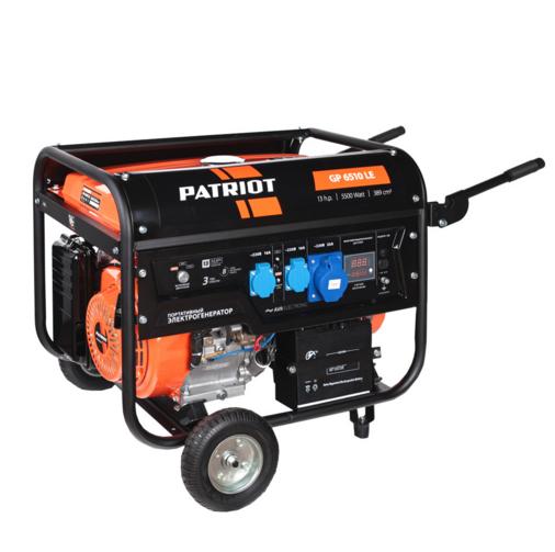 Электрогенератор Patriot GP 6510LE