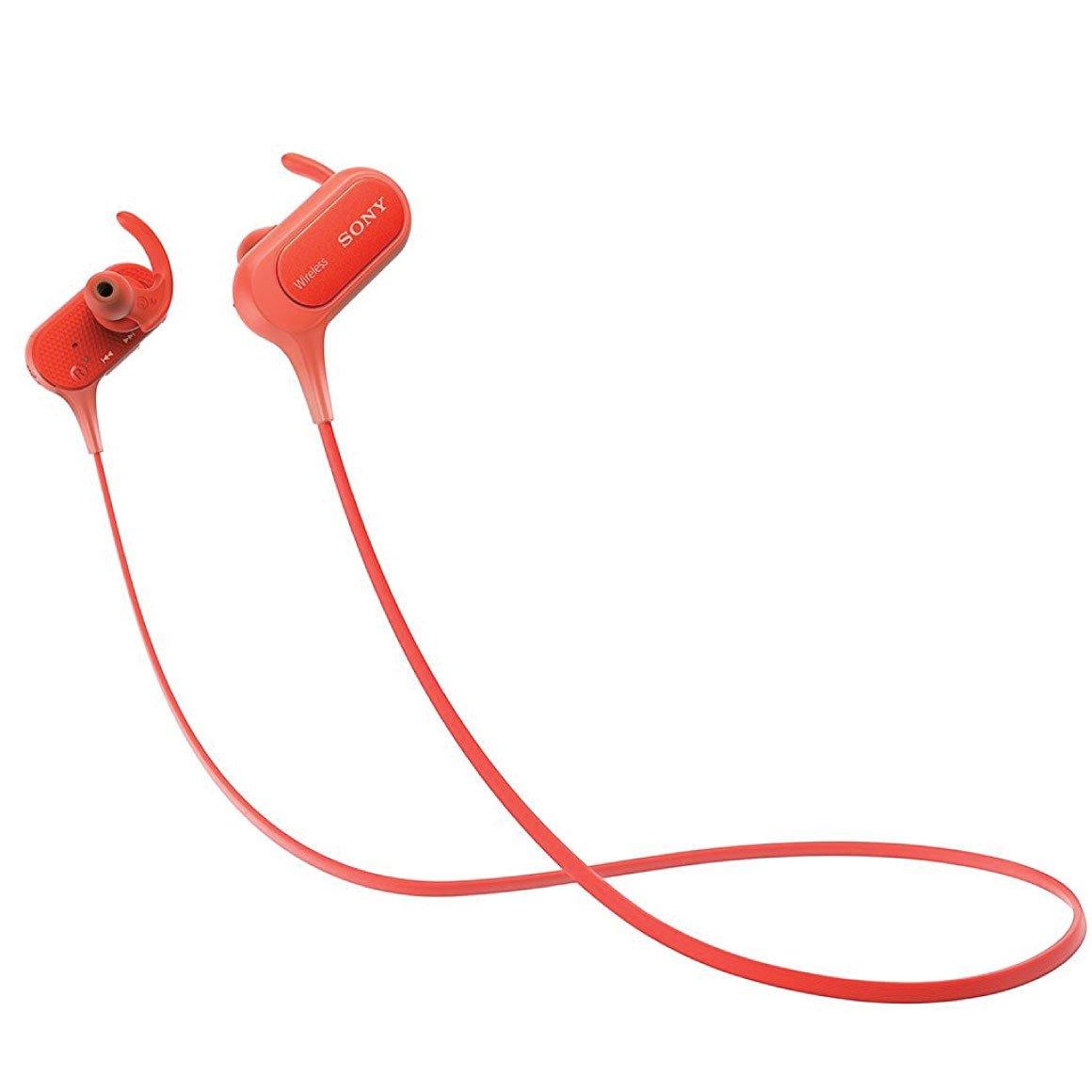 Наушники Sony MDR-XB50BS Extrabass Bluetooth RedНаушники и гарнитуры<br><br><br>Тип: наушники<br>Тип акустического оформления: Закрытые<br>Тип подключения: Беспроводные<br>Диапазон воспроизводимых частот, Гц: 4–24 000