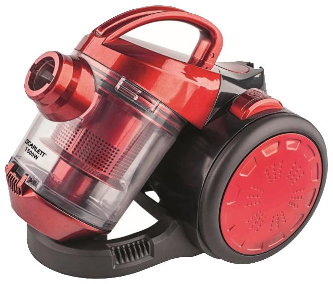 Пылесос Scarlett SC-VC80C01 RedПылесосы<br><br><br>Тип: Пылесос<br>Потребляемая мощность, Вт: 1500<br>Тип уборки: Сухая<br>Регулятор мощности на корпусе: Нет<br>Пылесборник: Циклонный фильтр<br>Емкостью пылесборника : 1.50 л