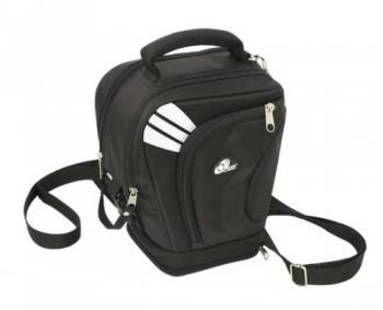 Сумка Acropolis АТ-50Сумки, рюкзаки и чехлы<br><br><br>Тип: сумка<br>Описание : тройная застежка (на молнию, липучку и фастекс), карман для карт памяти закрывается на молнию, раскрывающийся дополнительный объем для объективов с одетой блендой либо для светосильных зумов, плечевой ремень<br>Защита от воды: есть<br>Внешний карман: есть