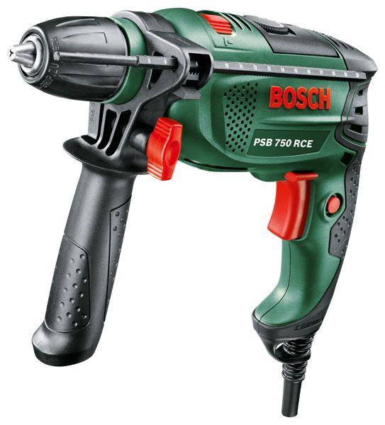 Дрель Bosch PSB 750 RCE Case (БЗП) [0603128520]