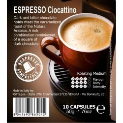 Кофе в капсулах Espresso Ciocattino 10 кап.