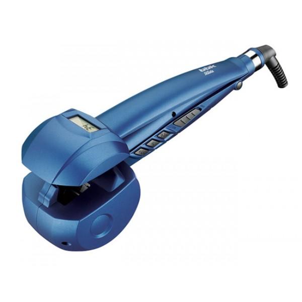 Щипцы BBK BST 5001 BlueФены и щипцы<br>Стайлер BST5001 серии Stilista - это прибор с автоматическим абсолютно комфортным созданием голливудских локонов. Особенность технологии автовращения в том, что она создает локон внутри прибора, локоны держатся по–настоящему долго.<br><br>Для разных типов волос предусмотрен выбор температурного режима – 170°, 190°, 210°, а также времени укладки – 8 сек., 10 сек., 12 сек. Температура равномерно распределяется от обеих керамических поверхностей, сохраняя здоровье волос. Функция ионизации придаст волосам блеск и устранит статическое напряжение.<br><br>LCD-дисплей позволяет...<br>