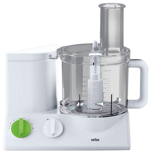 Кухонный комбайн Braun FP 3010 WhiteКухонные комбайны<br><br><br>Тип: Кухонный комбайн<br>Мощность, Вт: 800<br>Емкость чаши, л: 1.75<br>Соковыжималка: Нет