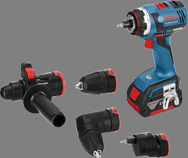 Дрель-шуруповерт Bosch GSR 18 V-EC FC2 4.0Ah x2 L-BOXX [06019E1101]Дрели, шуруповерты, гайковерты<br>- Встроенный держатель бит подходит для фиксации любых стандартных насадок-бит<br>- Компактный дизайн – короткое исполнение &amp;#40;147 мм&amp;#41; и малый вес &amp;#40;1,7 кг, GSR 18 V-FC2&amp;#41; обеспечивают высокоточную работу<br>- Высокая эффективность — заворачивание до 826 шурупов &amp;#40;6 x 60 мм&amp;#41; в мягкую древесину на всего одной зарядке аккумулятора &amp;#40;18 В – 4,0 А*ч&amp;#41;<br>- Высокая мощность – исключительно высокий крутящий момент благодаря инновационной концепции редуктора и новому 4-полюсному двигателю высокой мощности Bosch<br>- Встроенная светодиодная подсветка для освещения рабочей...<br><br>Тип: дрель-шуруповерт<br>Тип инструмента: безударный<br>Тип патрона: быстрозажимной<br>Количество скоростей работы: 2<br>Питание: от аккумулятора<br>Тормоз двигателя: есть<br>Возможности: реверс, фиксация шпинделя, электронная защита от перегрузок, электронная регулировка частоты вращения, бесколлекторный (бесщеточный) двигатель<br>Тип аккумулятора: Li-Ion<br>Время зарядки аккумулятора: 0.75 ч<br>Съемный аккумулятор: есть