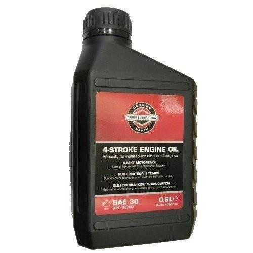 Масло для четырехтактных двигателей Briggs &amp; Stratton SAE-30 0,6лАксессуары для мотоблоков и культиваторов<br><br><br>Тип: масло