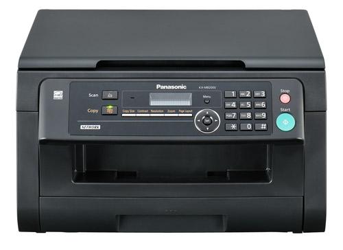 Многофункциональное устройство PANASONIC KX-MB2000RU-BПринтеры и МФУ<br><br><br>Тип: МФУ для малых рабочих групп<br>Тип печати : черно-белая<br>Технология печати  : лазерная<br>Размещение  : Настольный<br>LCD-дисплей  : Есть<br>Поддержка ОС  : Windows<br>Максимальный формат  : А4<br>Максимальное разрешение для ч/б печати, dpi  : 600<br>Скорость печати, стр/мин  : 24<br>Тип сканера  : Планшетный