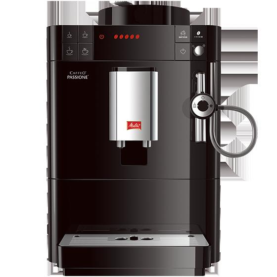 Кофемашина Melitta Caffeo Passione F 530-102Кофеварки и кофемашины<br>Вашу кофемашину Melitta легко в любое время отключить от сети при помощи кнопки выключения 0 ватт. Кроме того, машина снабжена программируемым режимом энергосбережения и функцией автоматического отключения. <br><br>- МИССИЯ eco &amp; care<br>Лэйбл Mission eco &amp; care обеспечивает полную оценку экологической рациональности каждого электрического продукта Melitta®. Это включает в себя оценку фаз производства и эксплуатации, наряду с фазой переработкой по окончании срока службы продукта. Система рейтинга, удостаивающая каждый продукт максимальной оценкой в пять...<br><br>Тип используемого кофе: Зерновой<br>Мощность, Вт: 1450<br>Объем, л: 1.2<br>Давление помпы, бар  : 15<br>Материал корпуса  : Пластик<br>Материал рожка  : Металл<br>Встроенная кофемолка: Есть<br>Емкость контейнера для зерен, г  : 125<br>Одновременное приготовление двух чашек  : Есть<br>Подогрев чашек  : Есть