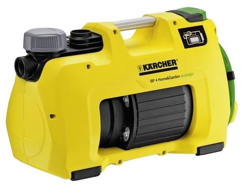 Насос Karcher BP 4 Home &amp; Garden ecologicНасосы<br><br><br>Глубина погружения: 8 м<br>Максимальный напор: 45 м<br>Пропускная способность: 3.8 куб. м/час<br>Напряжение сети: 220/230 В<br>Потребляемая мощность: 950 Вт<br>Качество воды: чистая<br>Установка насоса: горизонтальная