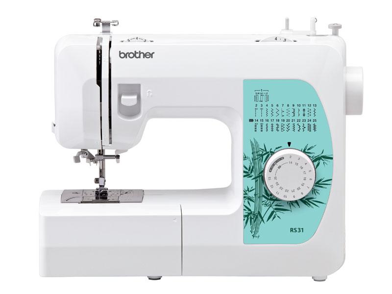 Швейная машина Brother RS-31Швейные машины<br><br><br>Тип: электромеханическая<br>Тип челнока: ротационный горизонтальный<br>Количество швейных операций: 25<br>Выполнение петли: автомат