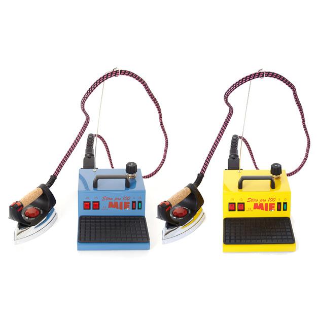 Парогенератор MIE Stiro Pro-100 YellowУтюги и гладильные системы<br><br><br>Тип : Парогенератор<br>Мощность, Вт: 1400<br>Время непрерывной работы: 1,5 часа<br>Объём резервуара для воды, мл: 1500