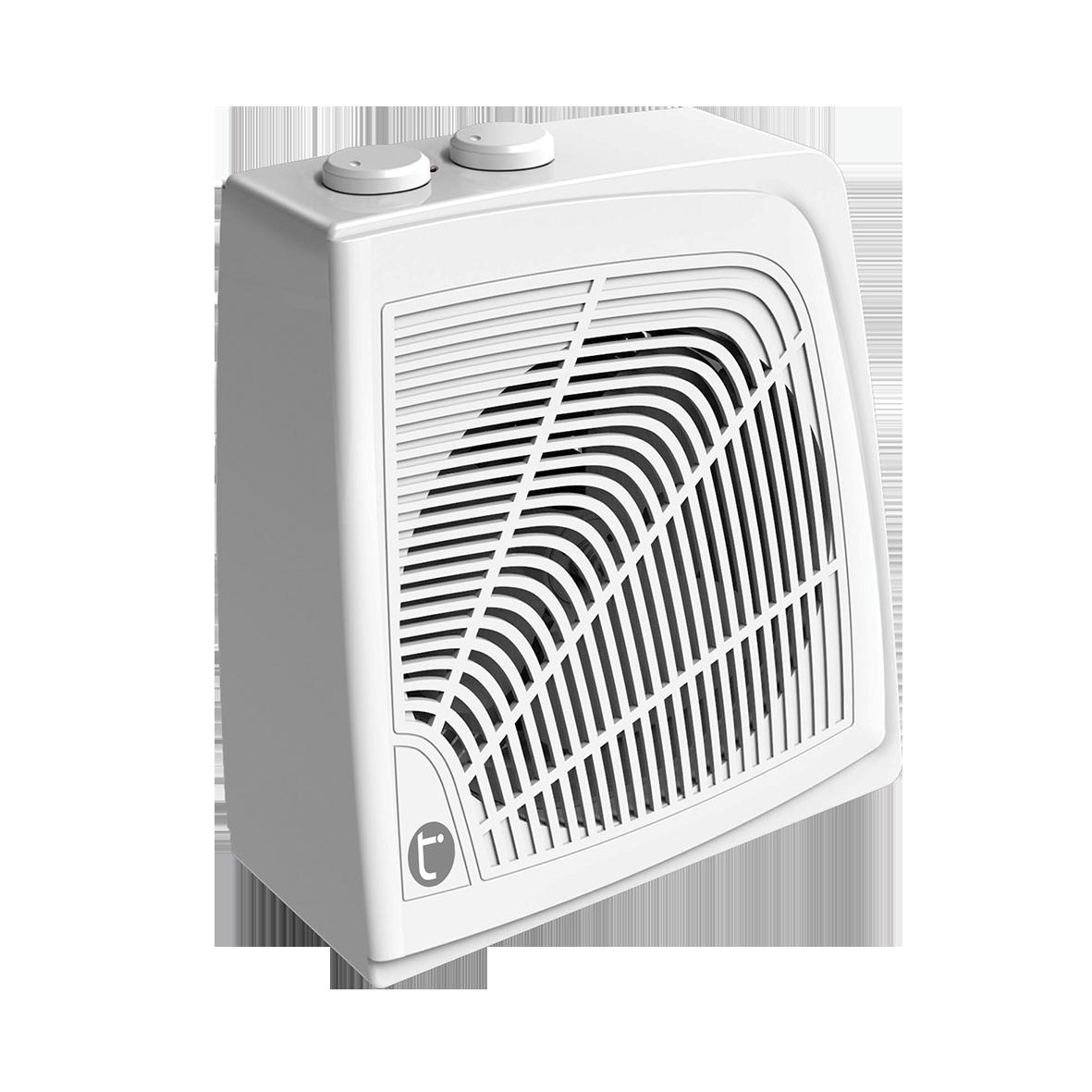 Тепловентилятор Timberk TFH S20QSSОбогреватели<br><br><br>Тип: термовентилятор<br>Тип нагревательного элемента: электрическая спираль<br>Площадь обогрева, кв.м: 22<br>Вентиляция без нагрева: есть<br>Отключение при перегреве: есть<br>Вентилятор : есть<br>Управление: механическое<br>Регулировка температуры: есть<br>Термостат: есть<br>Габариты: 200x115x235 мм