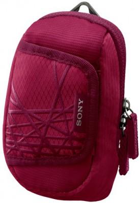 Чехол Sony LCS-CSX PinkСумки, рюкзаки и чехлы<br><br><br>Тип: чехол<br>Описание : стильный мягкий чехол для переноски фотокамер Sony Cyber-shot™