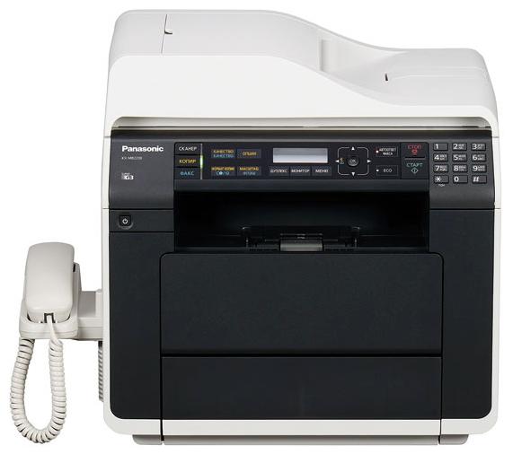 МФУ Panasonic KX-MB2230RUПринтеры и МФУ<br><br><br>Тип: МФУ для малых рабочих групп<br>Тип печати : черно-белая<br>Технология печати  : лазерная<br>Размещение  : Настольный<br>Поддержка ОС  : Windows<br>Максимальный формат  : А4<br>Максимальное разрешение для ч/б печати, dpi  : 2400x600<br>Скорость печати, стр/мин  : 28<br>Автоматическая двусторонняя печать  : Есть<br>Двухсторонняя печать  : Есть
