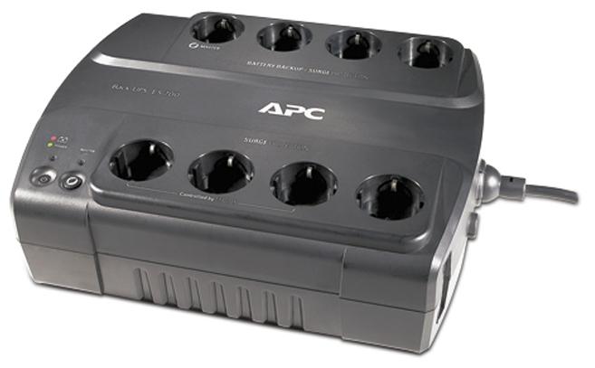 Источник питания APC by Schneider Electric Power-Saving Back-UPS ES 8 Outlet 700VA 230V CEE 7/7 (BE700G-RS)