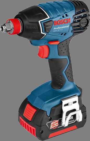 Шуруповерт  Bosch GDX 18 V-LI 0 [06019B8101]Дрели, шуруповерты, гайковерты<br>- Уникальная литий-ионная технология класса Premium от Bosch для большего времени работы на одном заряде<br>- Bosch Electronic Cell Protection &amp;#40;ECP&amp;#41;: система защиты аккумулятора от перегрузки, перегрева и глубокого разряда<br><br>Тип: шуруповерт<br>Тип инструмента: ударный<br>Количество скоростей работы: 1<br>Питание: от аккумулятора<br>Импульсный режим: есть<br>Возможности: реверс, электронная регулировка частоты вращения<br>Съемный аккумулятор: есть<br>Описание: комбинированный патрон - под биты + квадрат 1/2