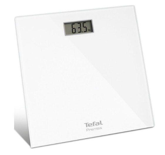 Весы Tefal PP 1061 V0Весы<br>Напольные весы TEFAL PP1061V0 получили классическую белую расцветку. Корпус изготовлен из особого высококачественного стекла. На передней панели находится цифровой дисплей, на который выводится результат взвешивания. Имеется индикация перегрузки.<br><br><br>Максимально допустимый вес TEFAL PP1061V0 составляет 150 кг. Шаг измерения - 0.1 кг. В качестве элемента питания используются батарейки. Индикатор заряда сообщит пользователю о необходимости их замены. Встроенная функция автоотключения позволяет устройству самостоятельно выключатся после завершения взвешивания....<br><br>Тип: напольные весы<br>Тип весов: электронные<br>Предел взвешивания, кг: 150