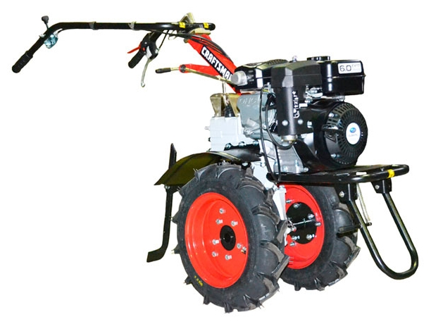 Мотоблок CRAFTSMAN 24030SМотоблоки и культиваторы<br><br><br>Объем топливного бака: 3.2 л<br>Ширина обработки почвы: 69.50 см<br>Глубина вспахивания: 40.5 см<br>Тип двигателя: бензиновый, четырехтактный<br>Производитель и модель двигателя: Subaru-Robin EX 17-Premium<br>Объем двигателя: 169 куб. см<br>Мощность двигателя: 4.20 кВт / 5.71 л.с. при 4000 об/мин<br>Тип коробки передач: ступенчатая автоматическая<br>Тип сцепления: дисковое<br>Тип редуктора: зубчатый
