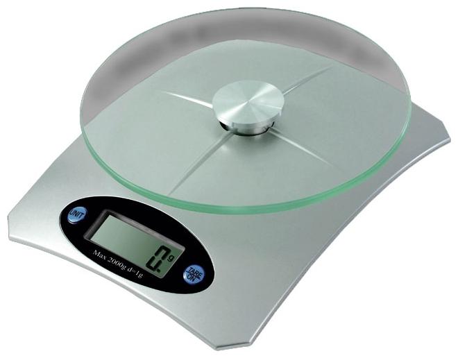 Кухонные весы Galaxy GL 2802Весы<br><br><br>Тип: электронные<br>Предел взвешивания, кг: 5<br>Точность измерения, г: 100