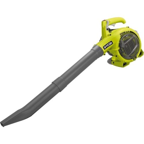 Садовый пылесос Ryobi RBV26B (3002353)Садовые пылесосы<br>Бензиновая воздуходувка-пылесос Ryobi RBV26B 3002353 представляет собой садово-парковый инструмент. Работает на обдув, всасывание и измельчение. Имеет 2-х тактный двигатель, который работает на смеси бензина и масла. Есть система поддержание постоянных оборотов под нагрузкой. Переключение между режимами не отвлекает от процесса уборки. Вместительный мешок не требует частого опустошения.<br><br>Тип: садовый пылесос<br>Потребляемая мощность, Вт: 750<br>Скорость потока воздуха: 88 м/с<br>Объём травосборника, л: 50<br>Тип двигателя: бензиновый