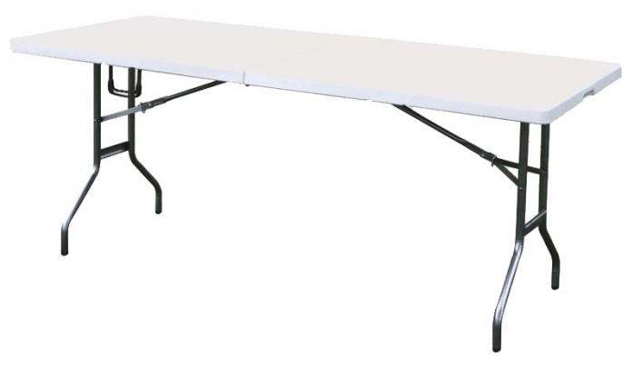 Стол Green Glade F240Садовая мебель, клумбы<br>Большой прочный стол для очень большой компании !!!<br><br>F240 - стол предназначенный&amp;nbsp;&amp;nbsp;для отдыха на природе компанией до 12 человек. Материалом столешницы является прочный&amp;nbsp;&amp;nbsp;огнеупорный пластик, а каркас выполнен из высокопрочной стали, что позволяет столу выдерживать нагрузку до 60 кг. &amp;#40;при равномерном распределении по площади стола&amp;#41;.<br><br>Тип: стол<br>Материал : огнеупорный пластик (до 140 С).<br>Складная конструкция: есть<br>Каркас: сталь (дуги 16 мм и 20 мм)<br>Max вес пользователя: 60 кг